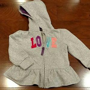 Love fleece jacket